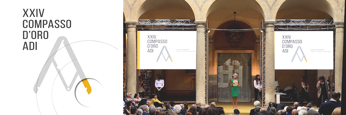 DEFERRARI MODESTI, Compasso d'oro, Adi Design Index 2015, Milano, Xgone, Mirage