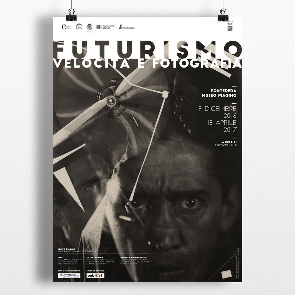 Futurismo, G. Lista, Manifesto, Locandina, Mostra, Museo Piaggio