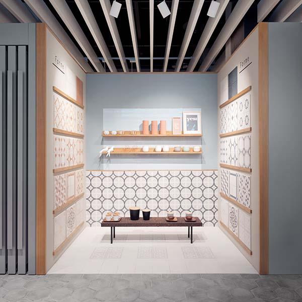 Showroom Marca Corona a sassuolo, Allestimento, progetto di Deferrari+Modesti