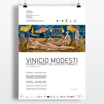Vinicio Modesti, Manifesto, Locandina, Mostra, Ceramica