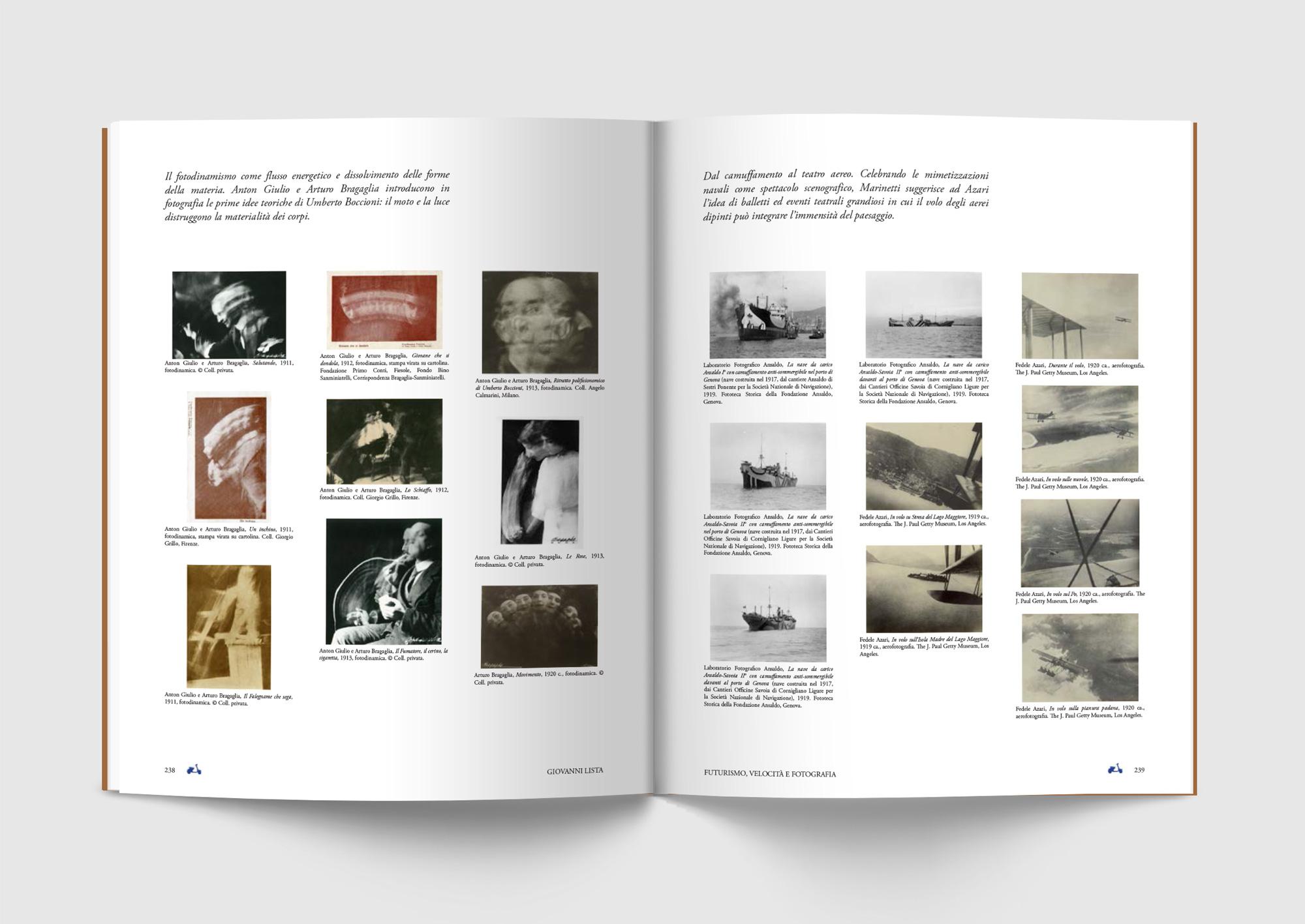 Futurismo, Mostra, G. Lista, Pontedera, deferrari modesti, Progetto grafico, Catalogo mostra