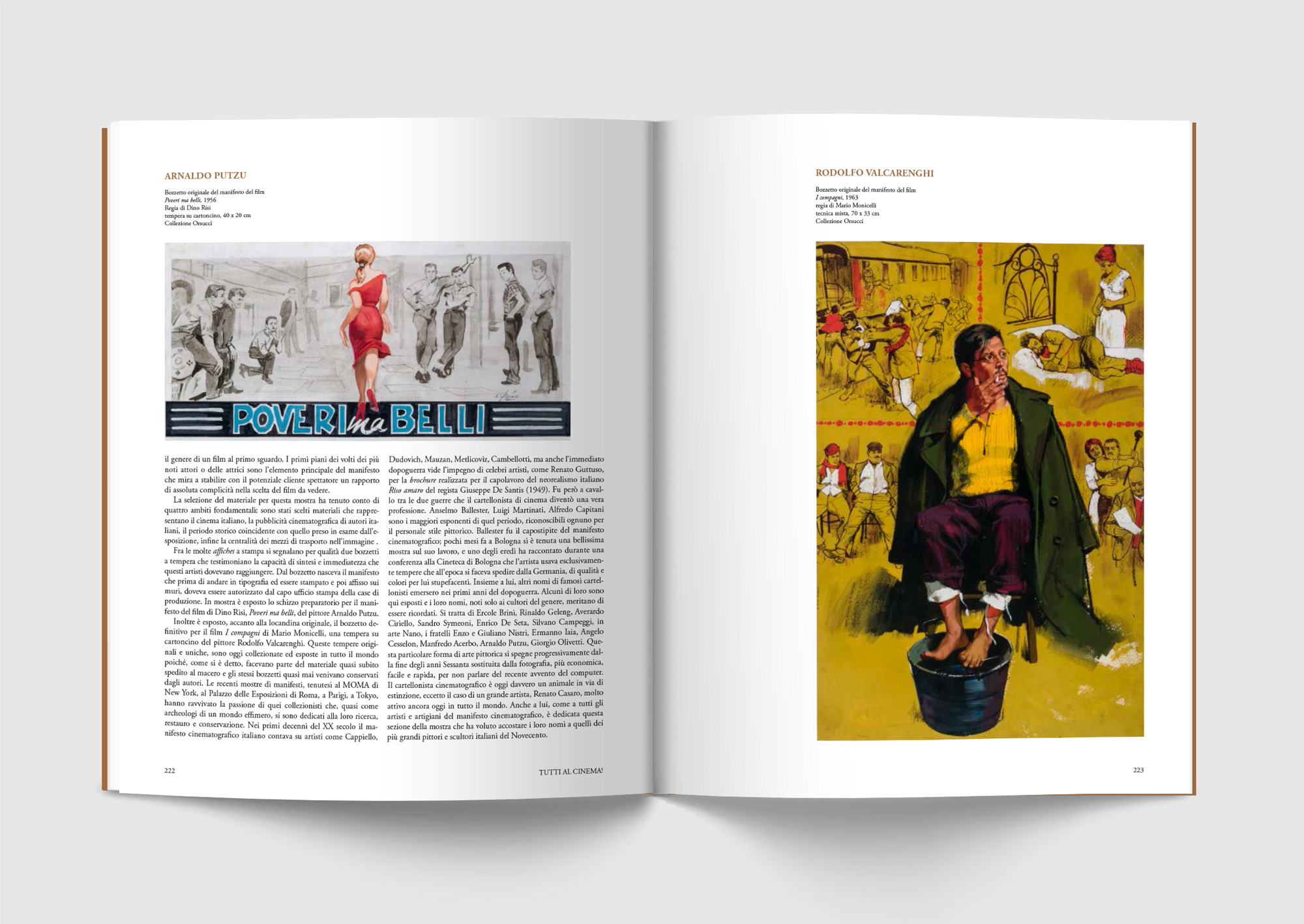Tutti in moto, Sironi, Pontedera, deferrari modesti, Progetto grafico, Catalogo mostra