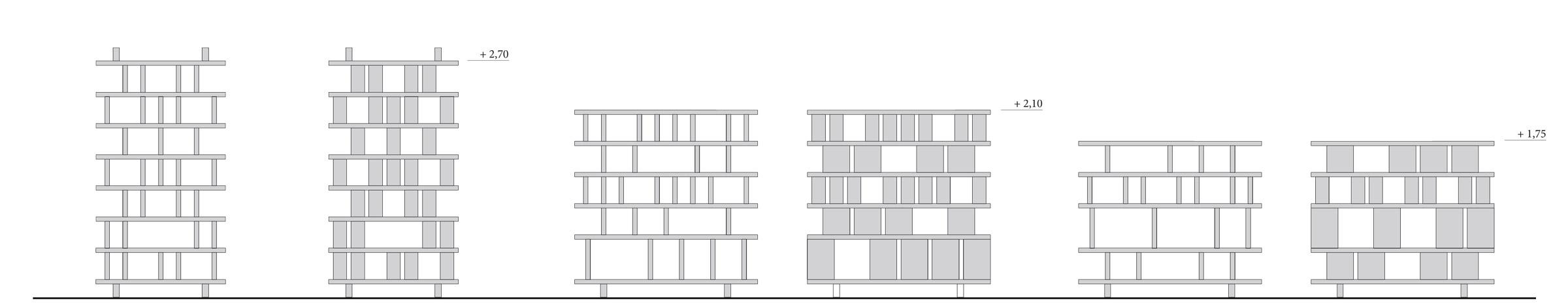 Gelosia, Fiemme 300, libreria in legno, Deferrari Modesti