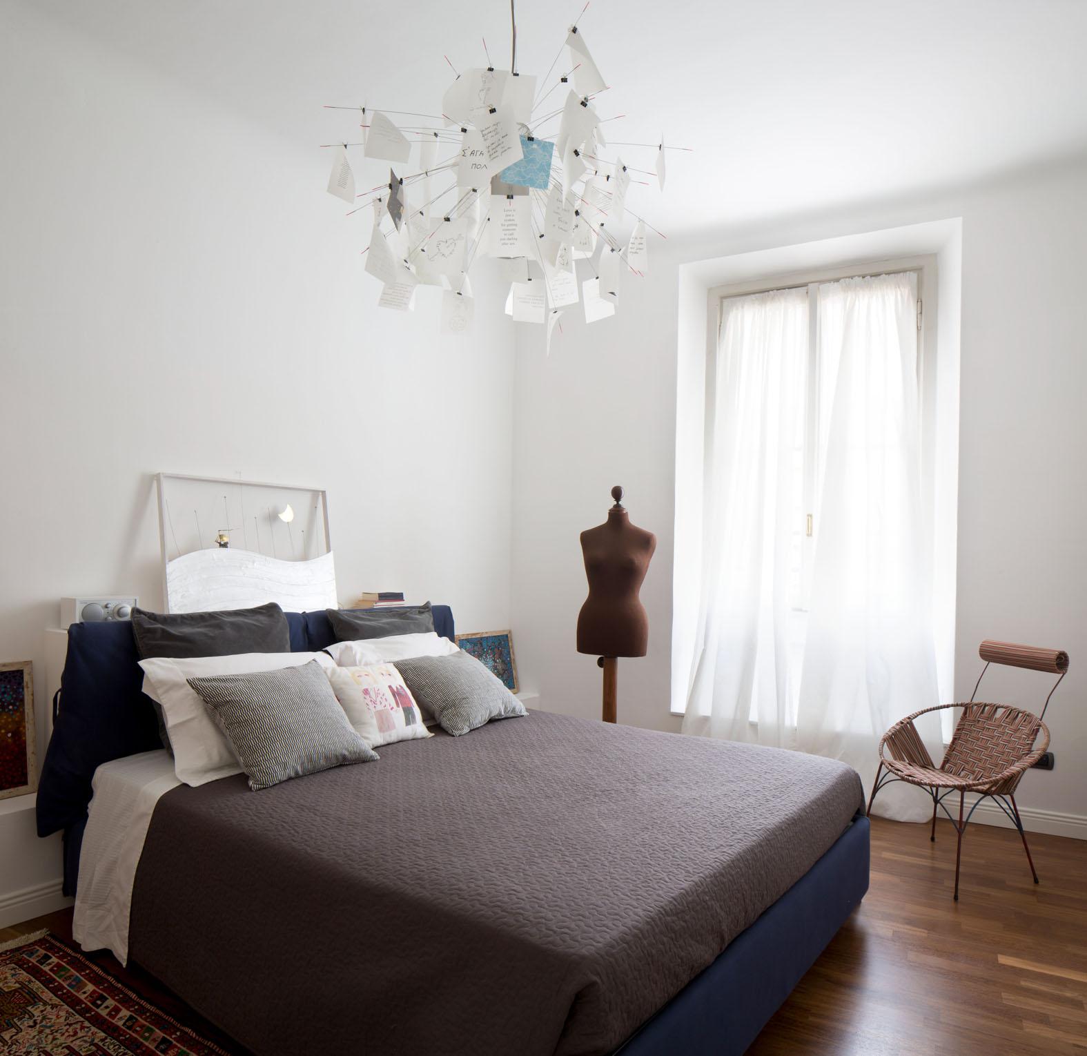 ristrutturazione, milano, interior design, deferrari modesti, camera da letto