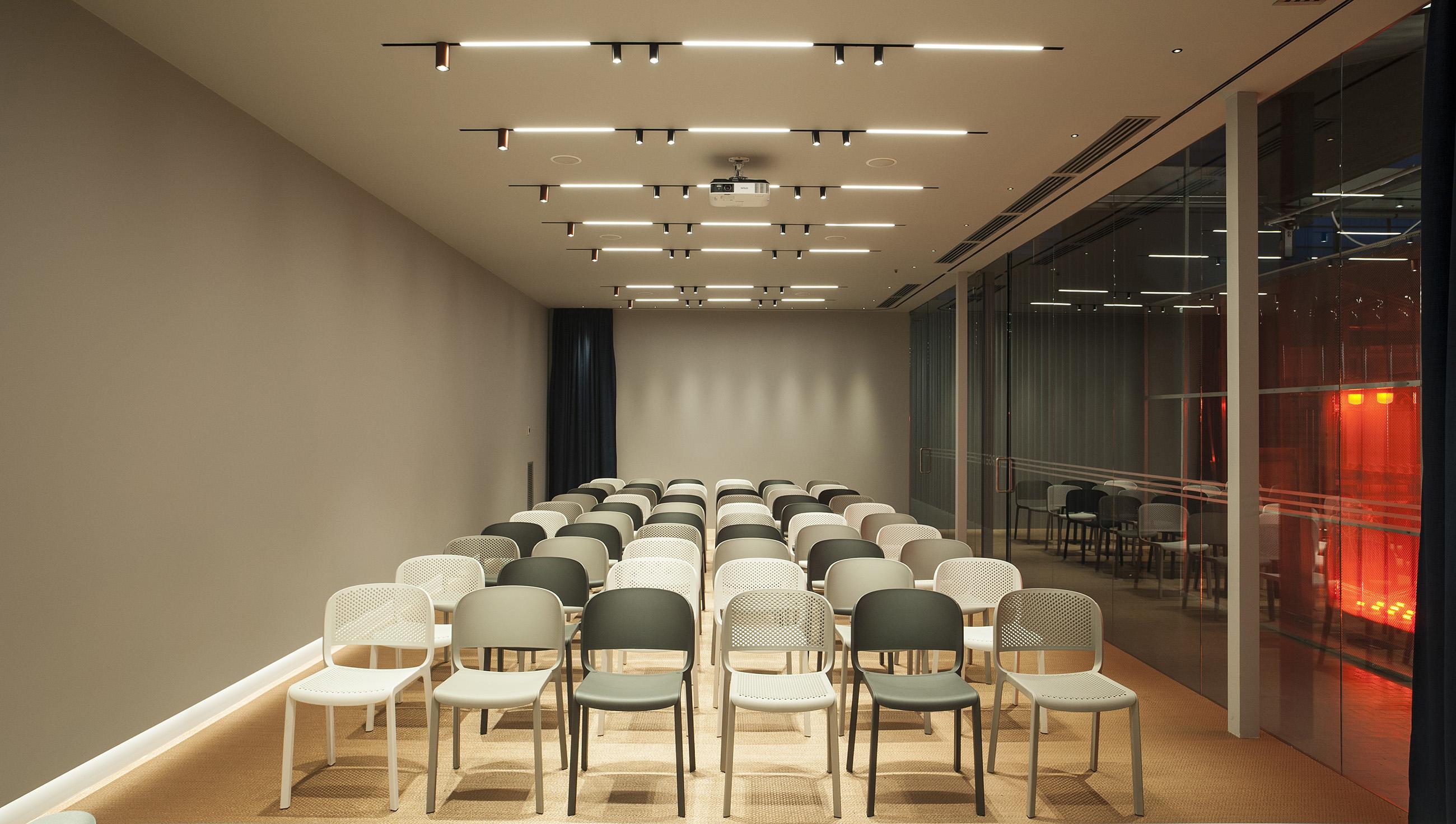 Th01, Targetti, HUB, Firenze, Florence, showroom, Deferrari Modesti