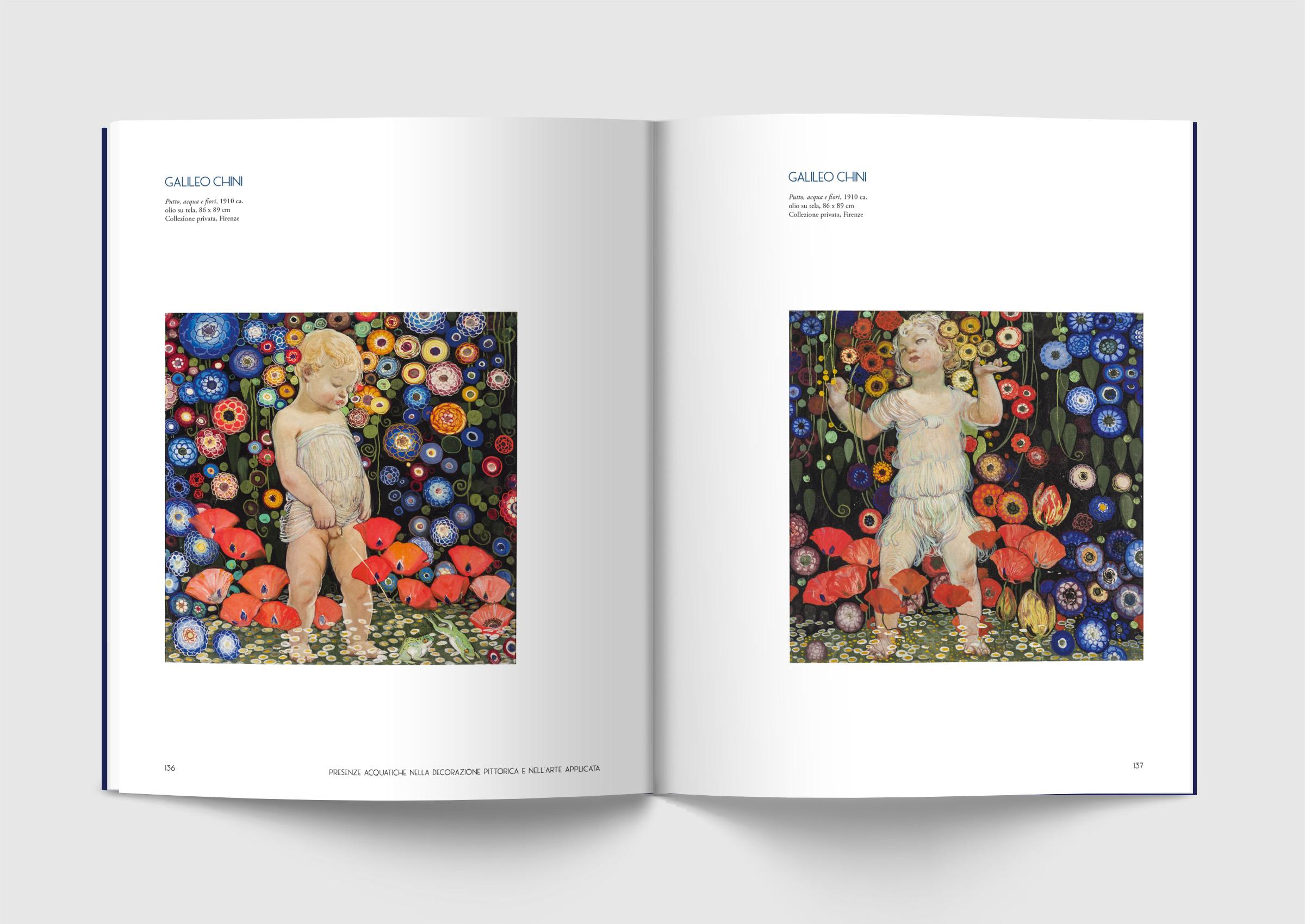 Catalogo Mostra, Galileo Chini, Palp, Pontedera, Design Deferrari modesti