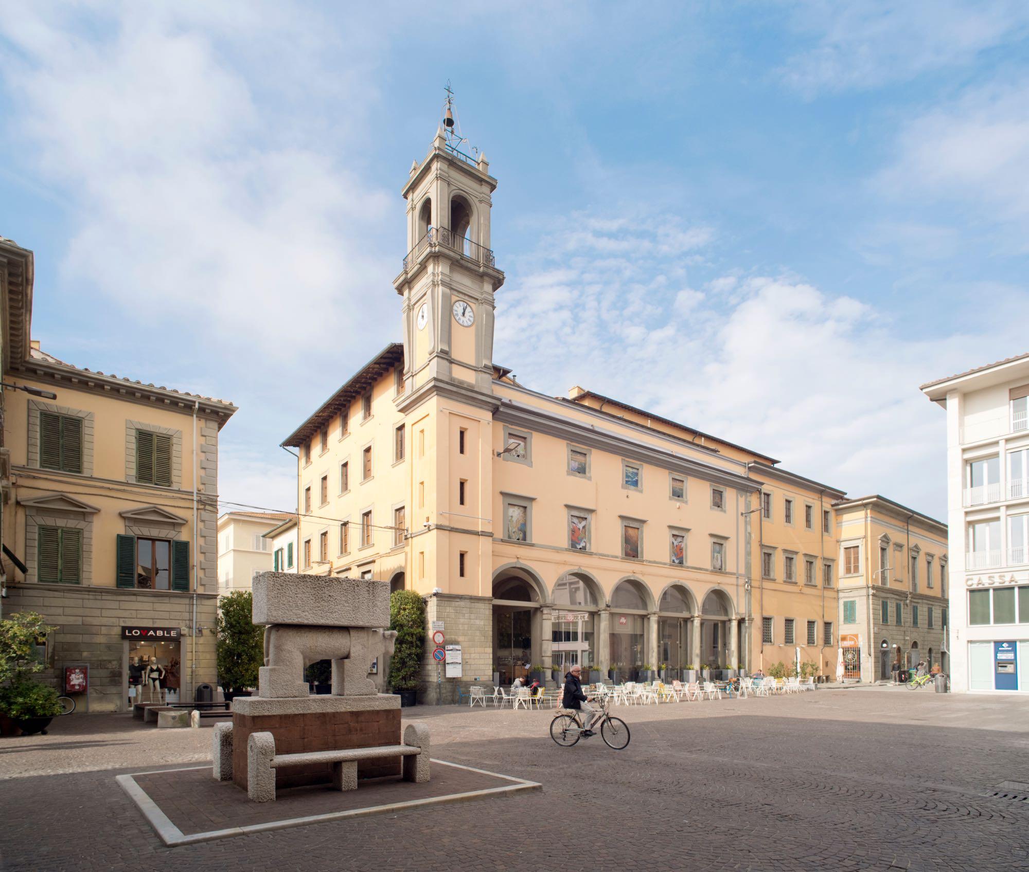 PALP. Palazzo Pretorio Pontedera, Deferrari Modesti, Allestimenti, interni