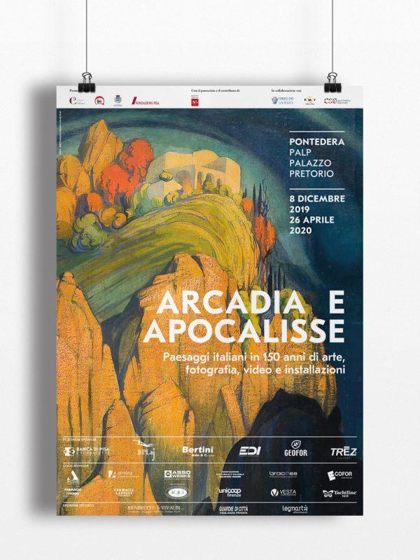 Arcadia Apocalisse, Palp, Pontedera, Design, Deferrari Modesti, Manifesto