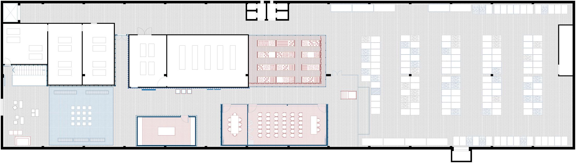 Targetti HUB, TH01, Florence, Allestimento, Interior Design, Deferrari Modesti, Targetti
