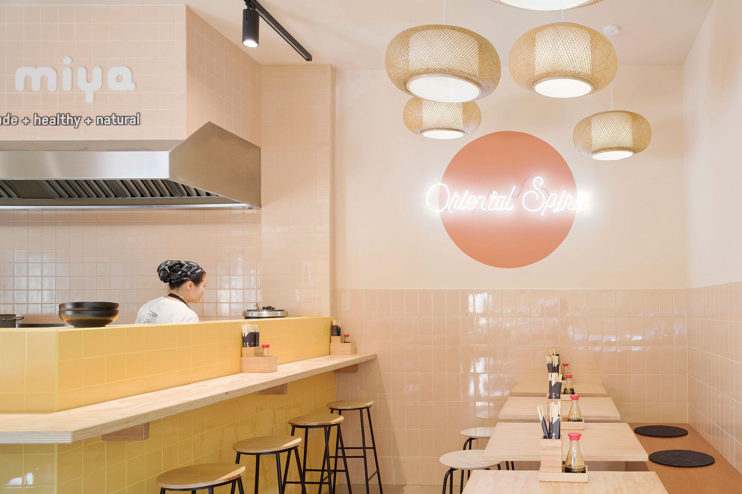 Miya, Oriental Restaurant, Fast Casual, Florence, Firenze, Interior Design, Deferrari Modesti