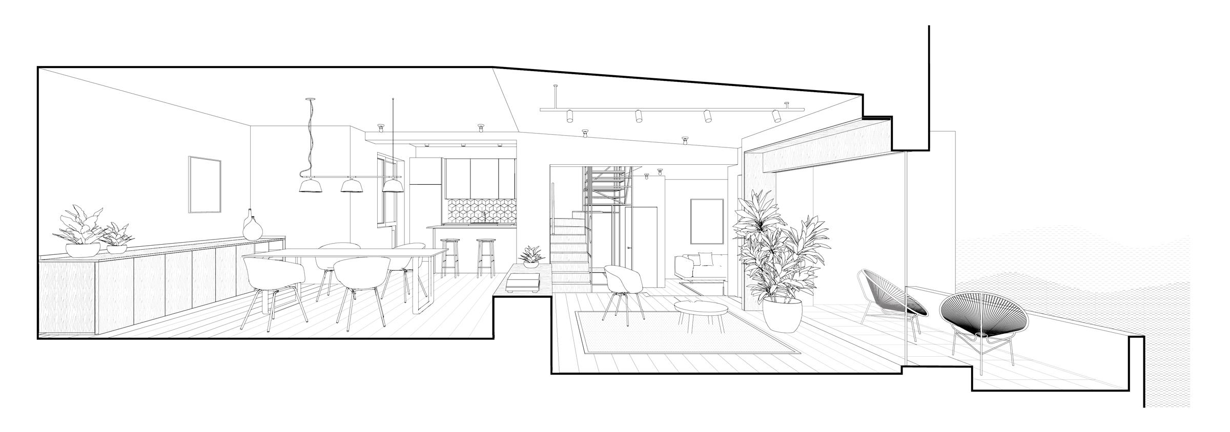 Casa LG, Casa per una giovane coppia, Prato, Deferrari Modesti, Interior Design