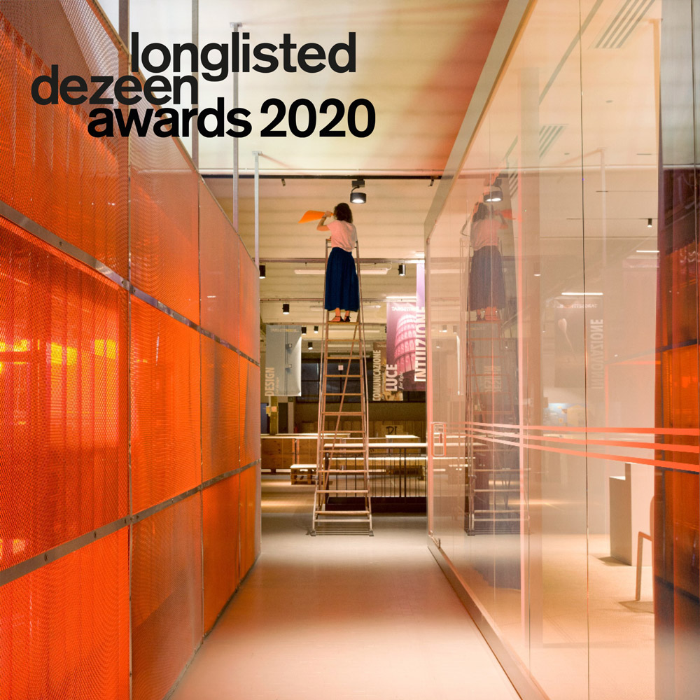 Dezeen Design Award 2020, Emerging Interior Designer of the Year, 2020, Deferrari+Modesti, Targetti Hub