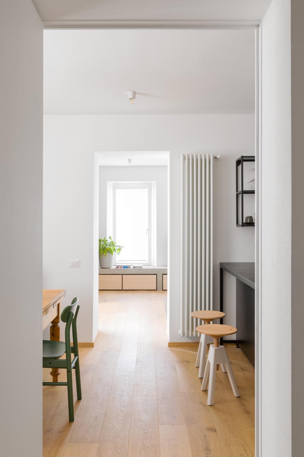 House LM, Brozzi, Firenze, Deferrari+Modesti, ristrutturazione, interior